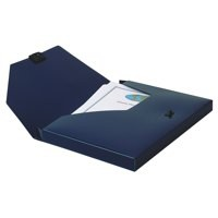 Image for Snopake DocBox 25mm Blue A4 12845