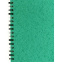 Silvine Notebook Twinwire Sidebound Hardcover Perforated Ruled 192 Pages 75gsm A6 Ref SPA6