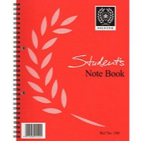 Image for Silvine Student Sprl Notebook 140