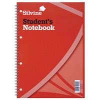 Silvine Student Spiral Notebook 141