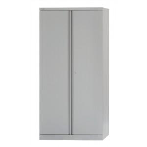 Bisley Cupboard Steel High 2 door 3 Shelf 1806mm Grey