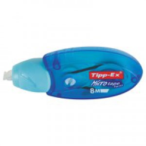 Tipp-Ex Micro Tape Twist Correction Roller with Rotating Cap 5mmx8m Code 870615