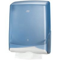 Lotus Z-Fold Hand Towel Dispenser Plastic W300xD130xH385mm White Ref 4042430