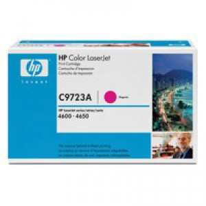 Hewlett Packard [HP] No. 641A Laser Toner Cartridge Page Life 8000pp Magenta Ref C9723A