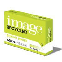 Image Recycled Bright White 100% Recycled A3 420X297mm 100Gm2 Packed 500