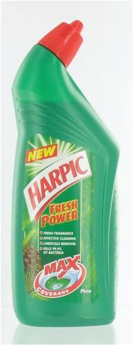 Harpic Active Toilet Cleaning Gel Fresh Power Pine 750ml Ref N06068