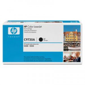 Hewlett Packard [HP] No. 645A Laser Toner Cartridge Page Life 13000pp Black Ref C9730A