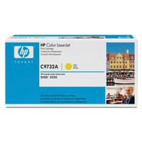 Hewlett Packard [HP] No. 645A Laser Toner Cartridge Page Life 12000pp Yellow Ref C9732A