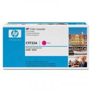 HP No.645A Laser Toner Cartridge Magenta Code C9733A