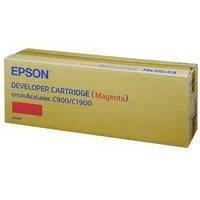 Epson AcuLaser C900/C1900 Toner/Developer Cartridge Magenta C13S050098