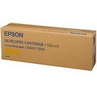 Epson AcuLaser C900/C1900 Toner/Developer Cartridge Yellow C13S050097