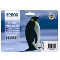 Epson Stylus Photo RX700 Inkjet Cartridge 6-Colour T0599 C13T559740