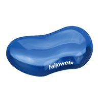 Fellowes Crystal Flex Rest Gel Blue Ref 91177-72