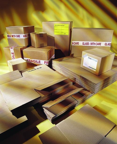 Corrugated Box Double Wall 125K/BC/T 305 x 305 x 305mm (12 x 12 x 12)