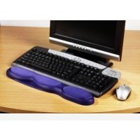 Acco Kensington Gel Keyboard Wrist Rest Blue 64272