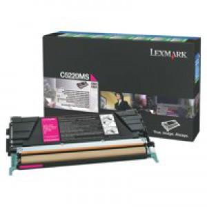 Lexmark C5220MS Magenta Rtn Toner EHY