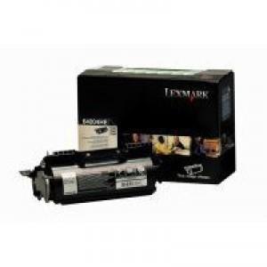 Lexmark Black H/Y 64004HE Rtn Toner