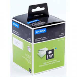 Dymo Labelwriter Labels Large Address Labels 36x89mm Ref 99012 S0722400 [Pack 2x260]