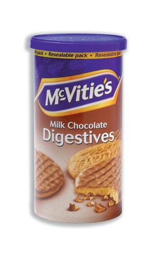 McVities Milk Chocolate Digestives Biscuits 250g Ref A06918
