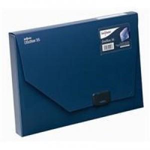 Snopake A4 35mm Dark Blue DocBox 12858