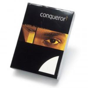 Conqueror Laid Hi/White A4 Paper Ream