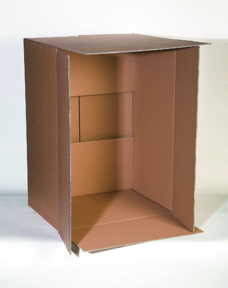 Corrugated Box Double Wall 125K/Bc/T 305X216X254mm (12X8.5X10) A5 Pack 15