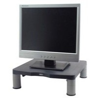 Fellowes Standard Monitor Riser 17in CRT 21in TFT 3 Heights 51-102mm Graphite Code 9169301