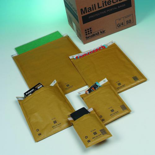 Mail Lite Gold Lightweight Postal Bag A/000 110x160mm Internal Pack 100