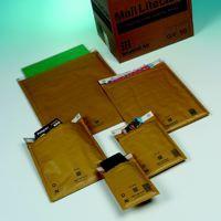 Mail Lite Gold Lightweight Postal Bag E/2 220x260mm Internal Pack 100