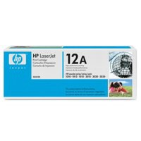 Hewlett Packard [HP] No. 12A Laser Toner Cartridge Page Life 2000pp Black Ref Q2612A