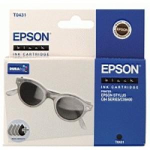 Epson T0431 Inkjet Cartridge DURABrite Sunglasses Page Life 850pp Black Ref C13T04314010