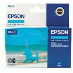 Epson T0442 Inkjet Cartridge DURABrite Parasol Page Life 400pp Cyan Ref C13T04424010