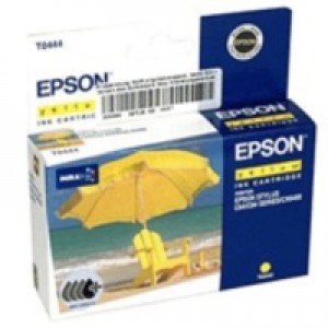 Epson T0444 Inkjet Cartridge DURABrite Parasol Page Life 400pp Yellow Ref C13T04444010