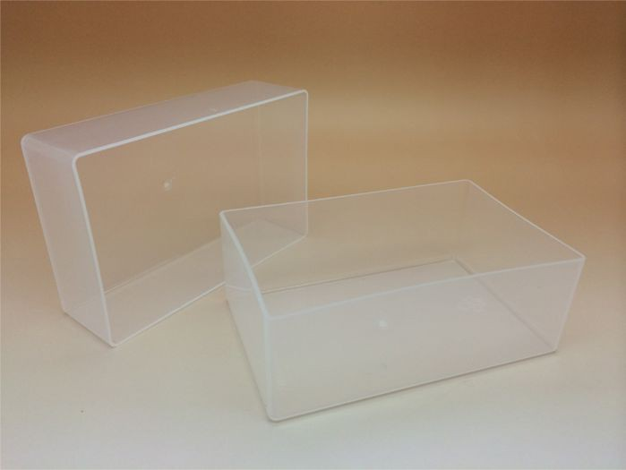 Compliment Slip Box & Lid 218 x 108 x 47mm Plastic Base/Lid