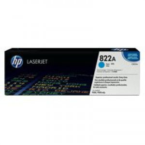 Hewlett Packard No822A LaserJet Toner Cartridge Cyan C8551A
