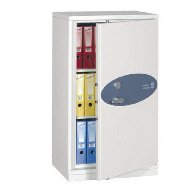 Phoenix Firechief Security Cupboard Fire Resistant 235 Litre Capacity 109kg W670xD525x1240mm Ref FS1611K