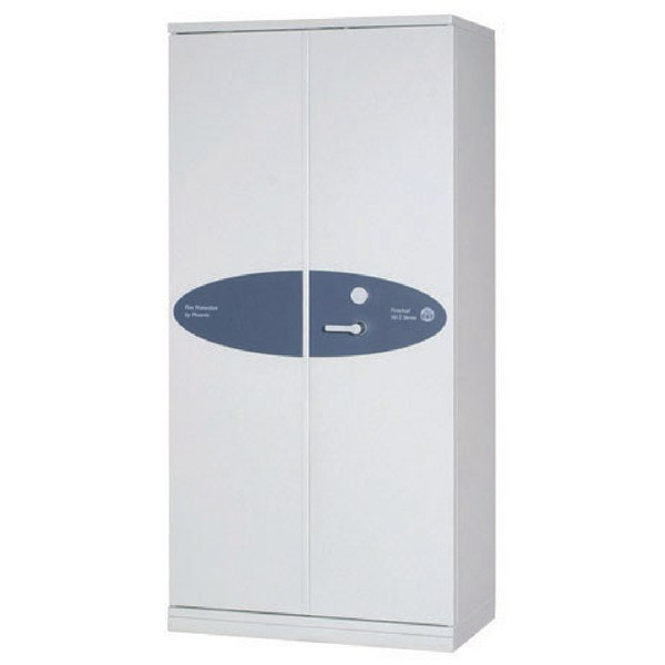 Phoenix Firechief Security Cupboard Fire Resistant 580 Litre Capacity 193kg W930xD525x1885mm Ref FS1612K
