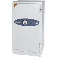 Phoenix Fire Commander Safe for Paper 2hrs Media 1hr Electronic Lock 228kg W655xD560xH1250 Ref FS1901E
