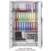 Phoenix Fire Commander Safe for Paper 2hrs Media 1hr Electronic Lock 548kg W1124xD700xH1770mm Ref FS1903E