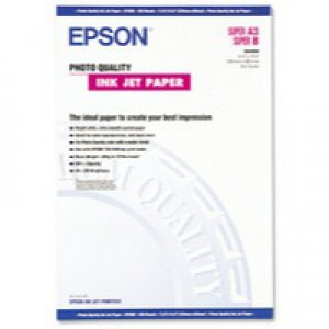 Epson Photo Quality Inkjet Paper Matt 104gsm Max.1440dpi A2 Ref S041079 [30 Sheets]