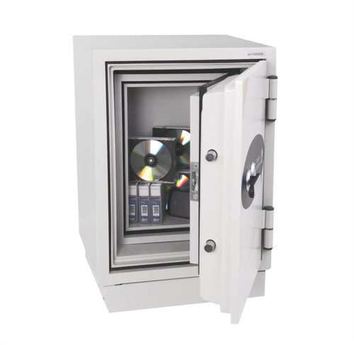 Phoenix Datacare Safe 2 Hours Fire Protection High Quality Key Lock 17L 95kg W470xD470xH685mm Ref DS2002K