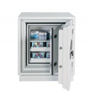 Image for Phoenix Datacare Safe 2 Hour Fire Protection High Quality Key Lock 80L 242kg W690xD720xH855mm Ref DS2003K