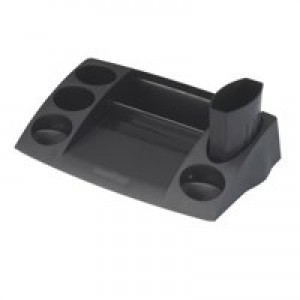 Avery Desktop Range Desk Tidy 270x152x55mm Black Code DR400BLK