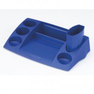 Avery DTR Desk Tidy W270xD152xH55mm Blue Ref DR400BLU