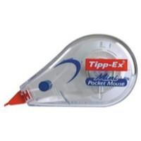 Tipp-Ex Mini Pocket Mouse Correction Tape Roller 5mmx5m Ref 812878 [Pack 10]