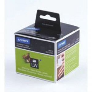 Dymo Labelwriter Labels Name Badge and Shipping 54x101mm Ref 99014 S0722430 [Pack 220]