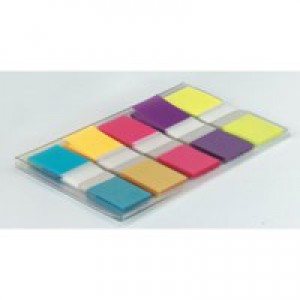 3M Post-it Index 12mm Mini Labels Portable Bright Colours Code 683-5CB