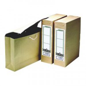 R-Kive Basics Storage Bag File Foolscap W101xD254xH356mm Ref 00110 [Pack 25]
