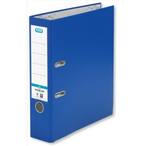 Elba Lever Arch File PVC 70mm Spine A4 Blue Ref 100080898 [Pack 10]