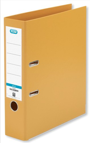 Elba Lever Arch File PVC 70mm Spine A4 Orange Ref 100080905 [Pack 10]